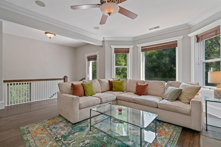 Real Estate Photography - 4704 N. Talman Ave, Chicago, IL, 60625 - Family Room