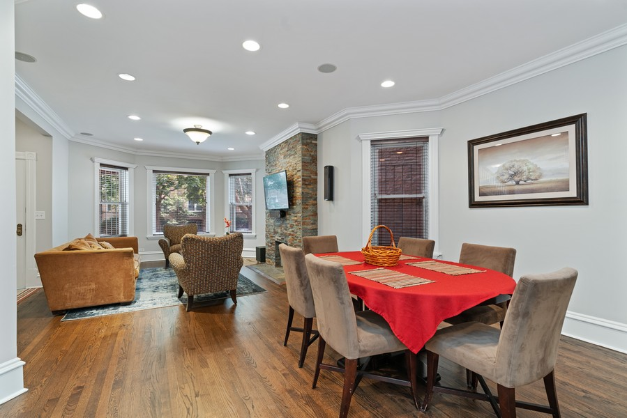 Real Estate Photography - 4704 N. Talman Ave, Chicago, IL, 60625 - Dining Room