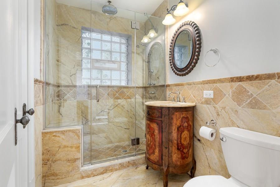 Real Estate Photography - 4704 N. Talman Ave, Chicago, IL, 60625 - Bathroom