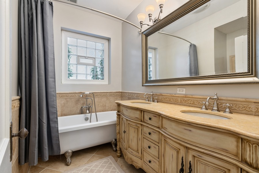 Real Estate Photography - 4704 N. Talman Ave, Chicago, IL, 60625 - 2nd Bathroom