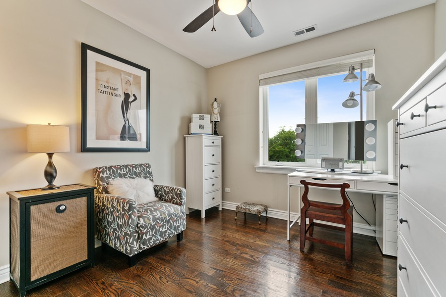 Real Estate Photography - 4156 N. Elston Ave, #4N, Chicago, IL, 60618 - 2nd Bedroom