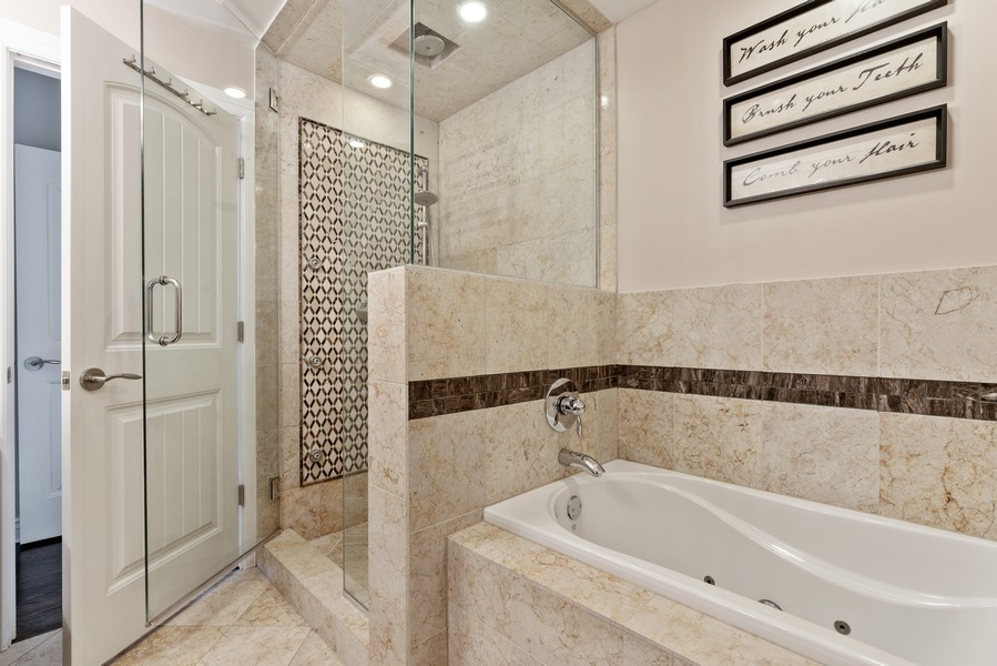 Real Estate Photography - 4156 N. Elston Ave, #4N, Chicago, IL, 60618 - Master Bathroom