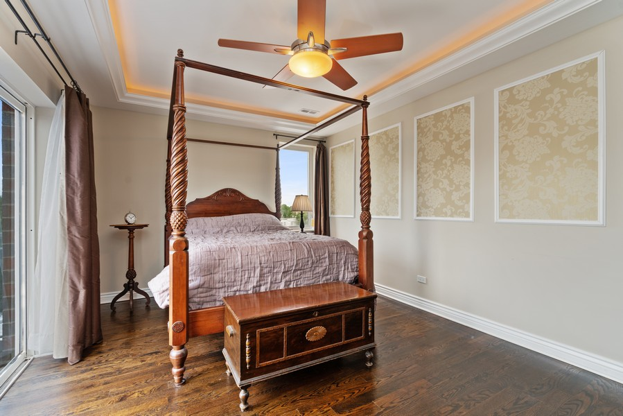 Real Estate Photography - 4156 N. Elston Ave, #4N, Chicago, IL, 60618 - Master Bedroom