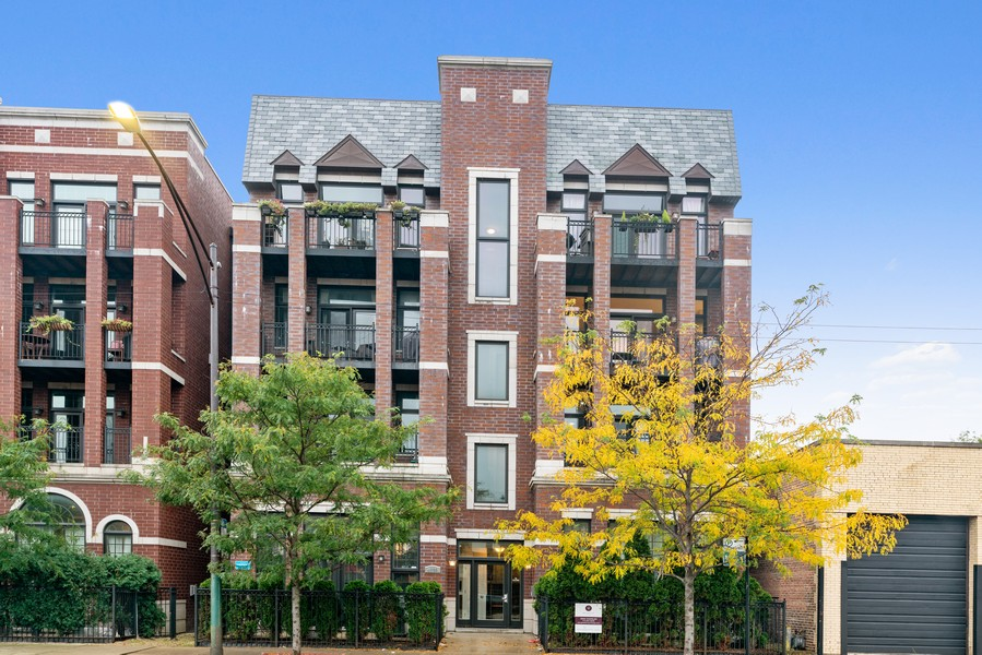 Real Estate Photography - 4156 N. Elston Ave, #4N, Chicago, IL, 60618 - Front View