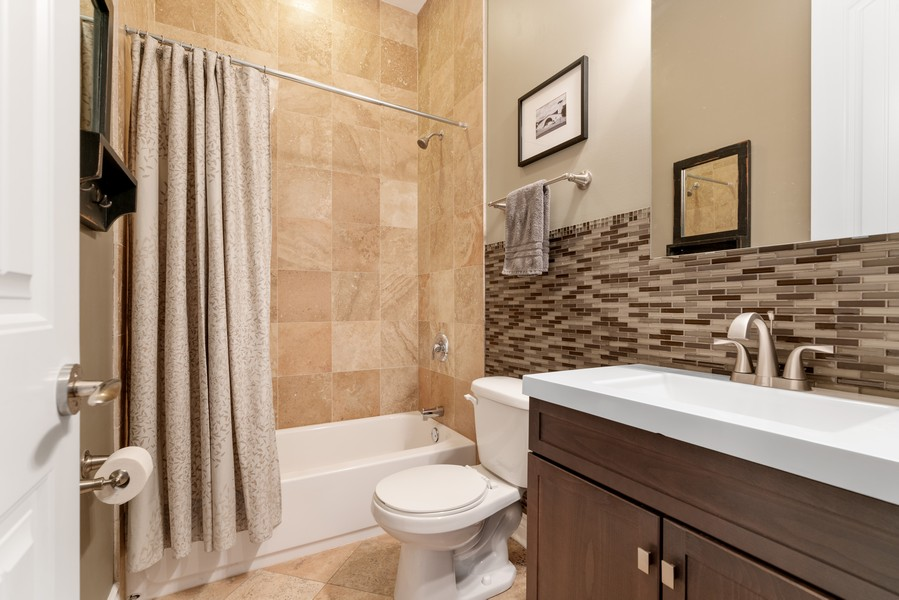 Real Estate Photography - 4156 N. Elston Ave, #4N, Chicago, IL, 60618 - Bathroom