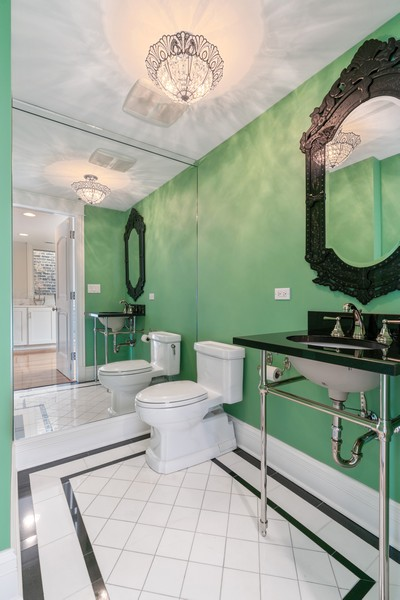 Real Estate Photography - 1914 N. Clark St, Chicago, IL, 60614 - 5th Bathroom