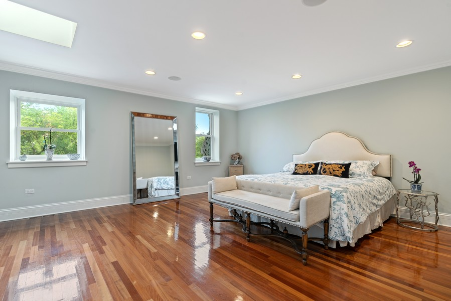 Real Estate Photography - 1914 N. Clark St, Chicago, IL, 60614 - Master Bedroom
