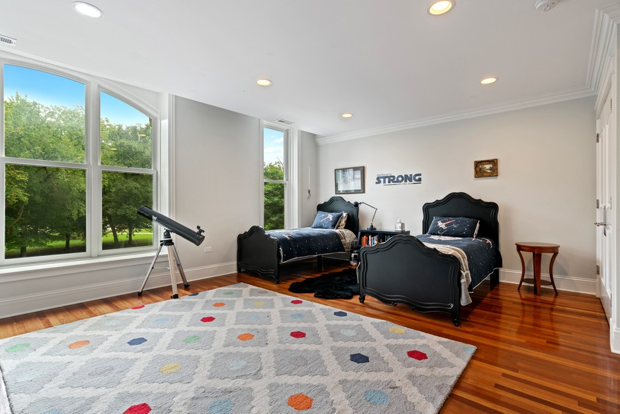 Real Estate Photography - 1914 N. Clark St, Chicago, IL, 60614 - 2nd Bedroom