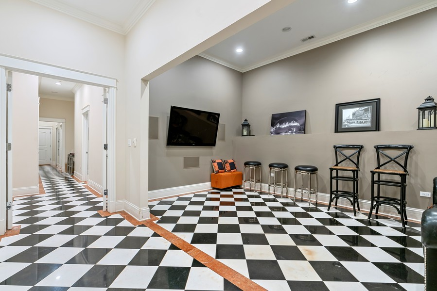 Real Estate Photography - 1914 N. Clark St, Chicago, IL, 60614 - Lower Level