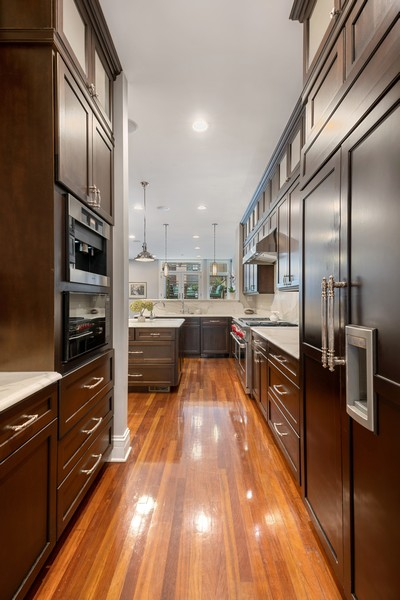 Real Estate Photography - 1914 N. Clark St, Chicago, IL, 60614 - Butler's pantry