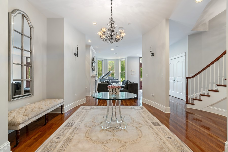 Real Estate Photography - 1914 N. Clark St, Chicago, IL, 60614 - Dining Room