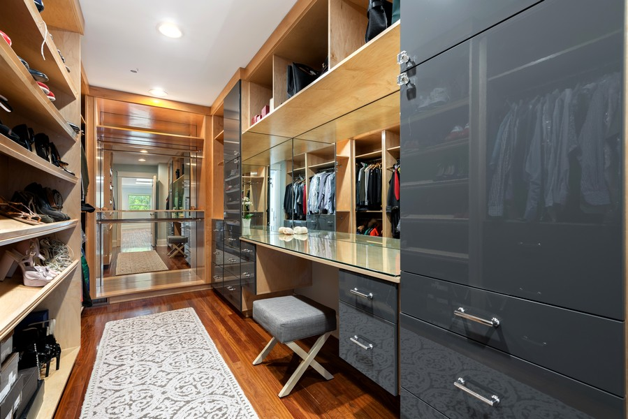 Real Estate Photography - 1914 N. Clark St, Chicago, IL, 60614 - Master Bedroom Closet