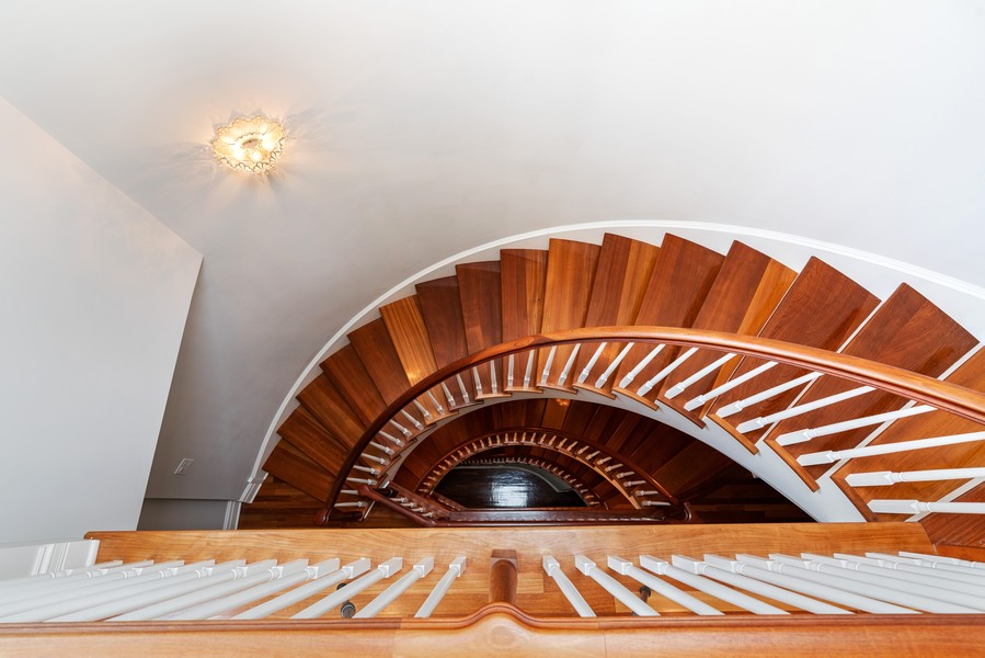 Real Estate Photography - 1914 N. Clark St, Chicago, IL, 60614 - Staircase