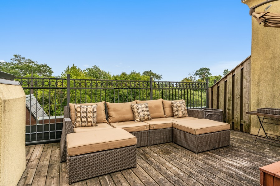 Real Estate Photography - 1914 N. Clark St, Chicago, IL, 60614 - Roof Deck