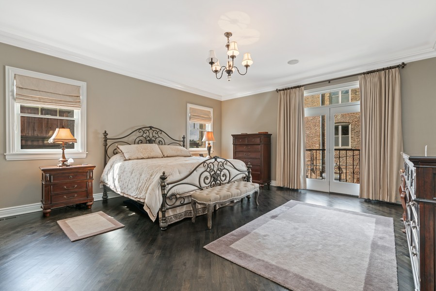 Real Estate Photography - 654 N. Oakley Blvd, Chicago, IL, 60612 - Master Bedroom