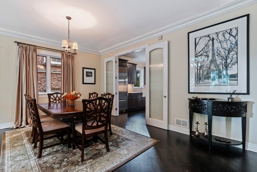 Real Estate Photography - 654 N. Oakley Blvd, Chicago, IL, 60612 - Dining Room