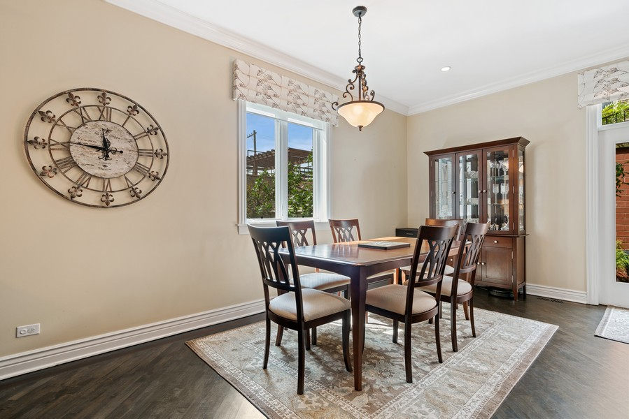 Real Estate Photography - 654 N. Oakley Blvd, Chicago, IL, 60612 - Dining Area