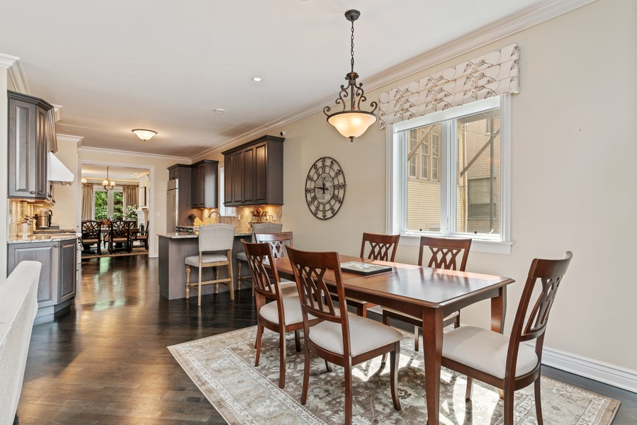 Real Estate Photography - 654 N. Oakley Blvd, Chicago, IL, 60612 - Dining Area 2
