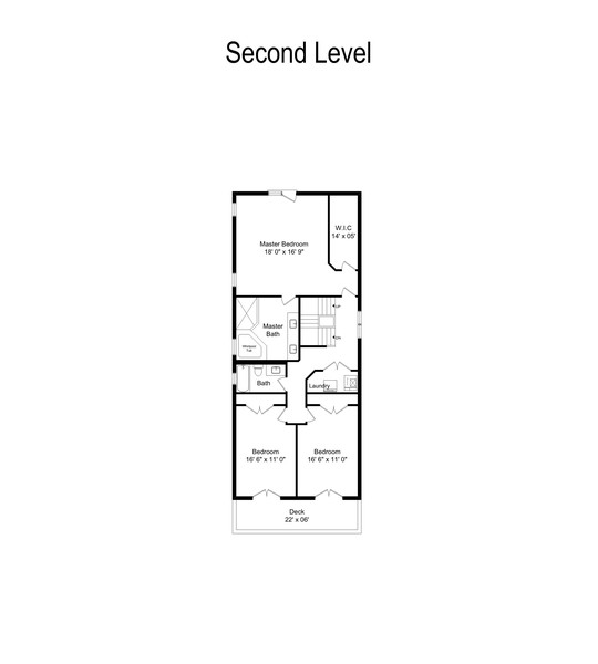 Real Estate Photography - 654 N. Oakley Blvd, Chicago, IL, 60612 - Floor Plan