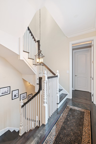 Real Estate Photography - 654 N. Oakley Blvd, Chicago, IL, 60612 - Staircase