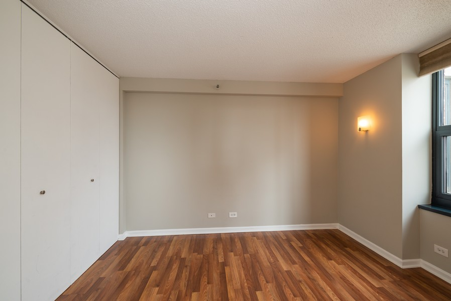 Real Estate Photography - 3660 N Lake Shore Drive, Unit 1111, Chicago, IL, 60613 - Bedroom