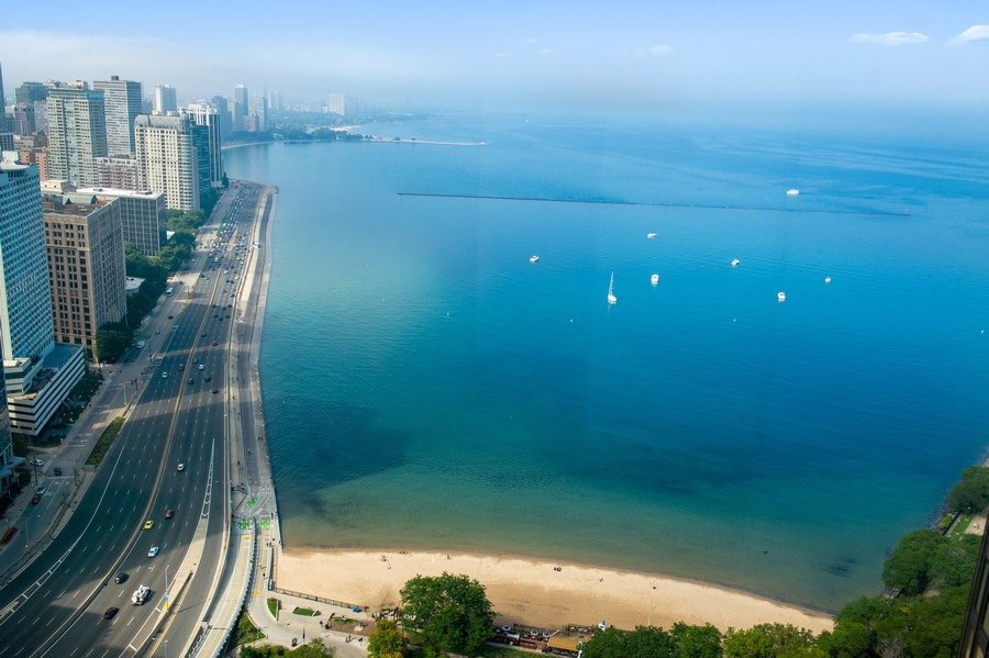 Real Estate Photography - 505 N Lake Shore Drive, Unit 4412, Chicago, IL, 60611 - View