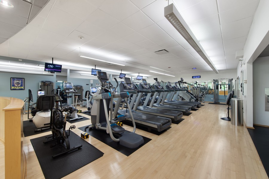 Real Estate Photography - 505 N Lake Shore Drive, Unit 4412, Chicago, IL, 60611 - Gym