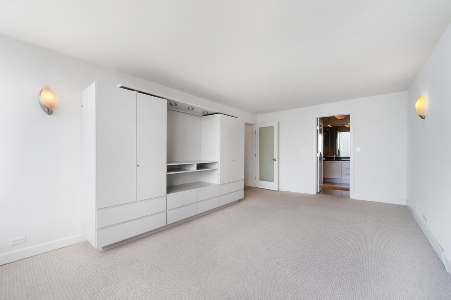 Real Estate Photography - 505 N Lake Shore Drive, Unit 4412, Chicago, IL, 60611 - Master Bedroom