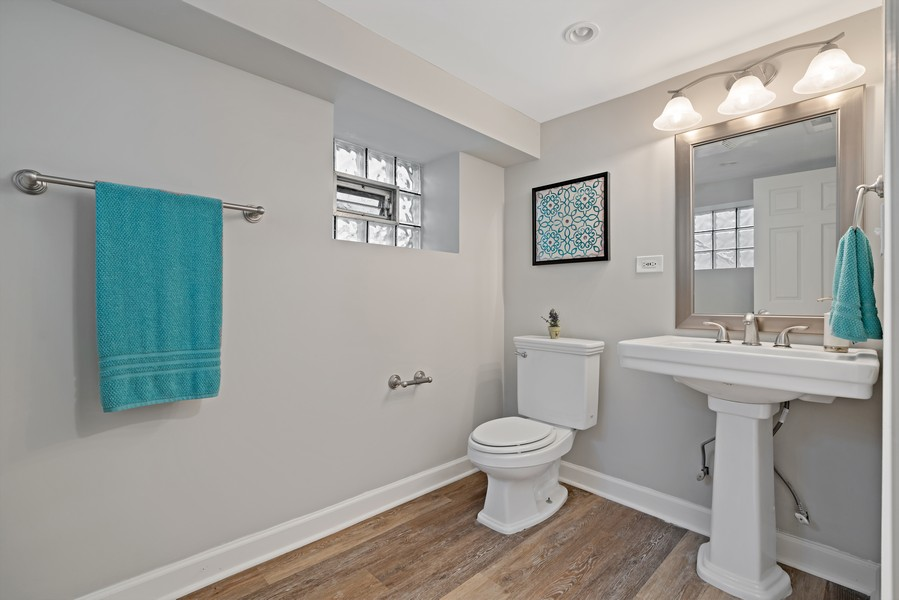 Real Estate Photography - 5131 W. Patterson Ave, Chicago, IL, 60641 - 3rd Bathroom
