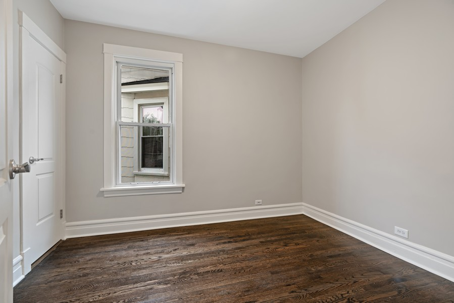 Real Estate Photography - 5131 W. Patterson Ave, Chicago, IL, 60641 - 2nd Bedroom