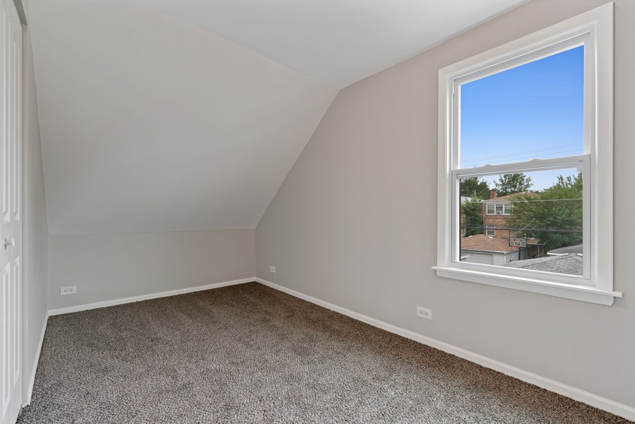 Real Estate Photography - 5131 W. Patterson Ave, Chicago, IL, 60641 - 4th Bedroom