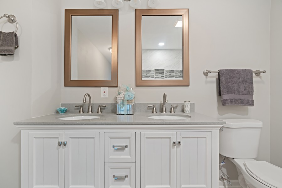Real Estate Photography - 5131 W. Patterson Ave, Chicago, IL, 60641 - Master Bathroom