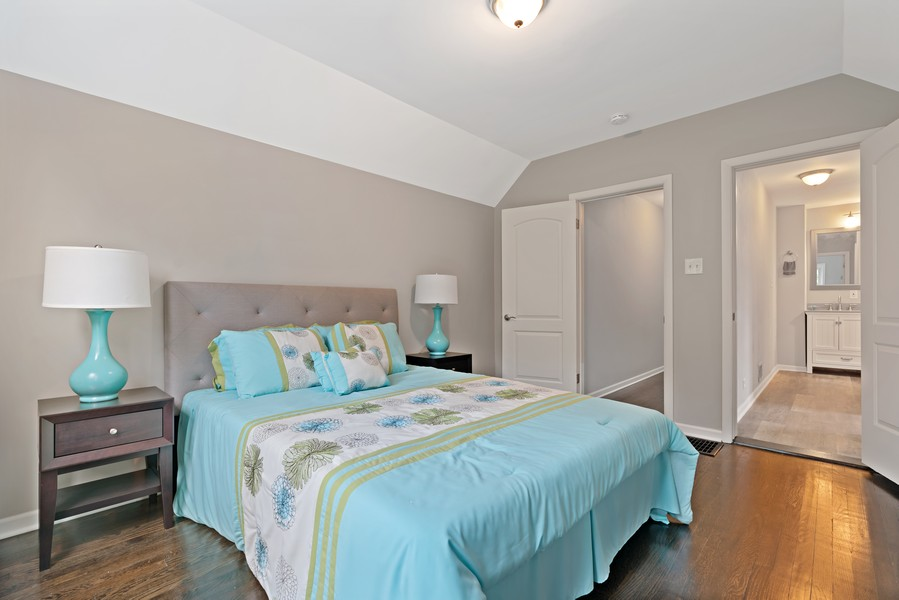 Real Estate Photography - 5131 W. Patterson Ave, Chicago, IL, 60641 - Master Bedroom