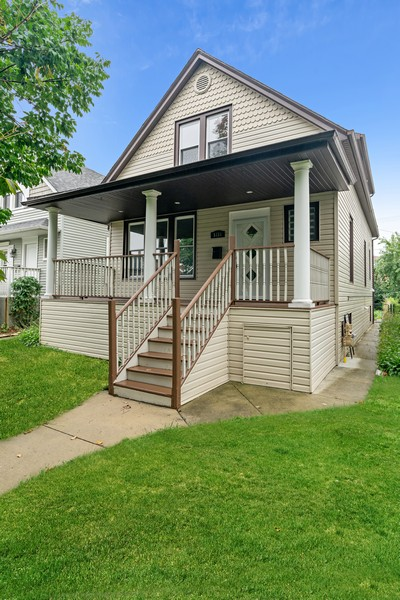Real Estate Photography - 5131 W. Patterson Ave, Chicago, IL, 60641 - Front View