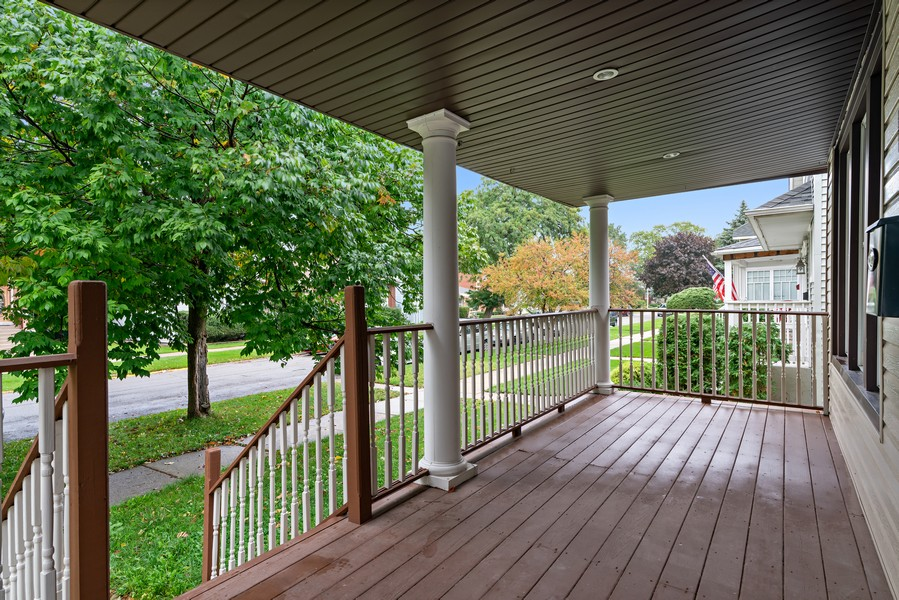 Real Estate Photography - 5131 W. Patterson Ave, Chicago, IL, 60641 - Porch