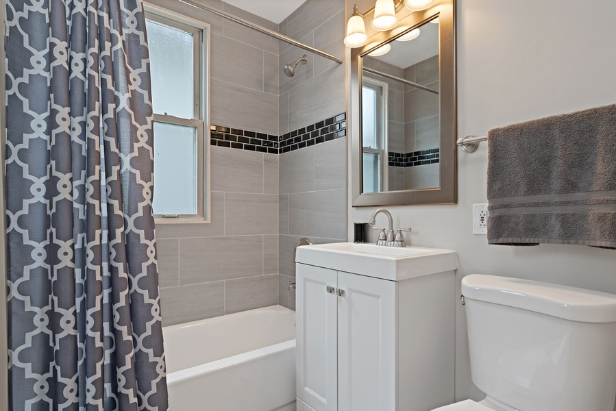 Real Estate Photography - 5131 W. Patterson Ave, Chicago, IL, 60641 - Bathroom