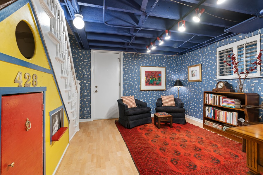 Real Estate Photography - 428 W. Roslyn Pl, Chicago, IL, 60614 - Lower Level