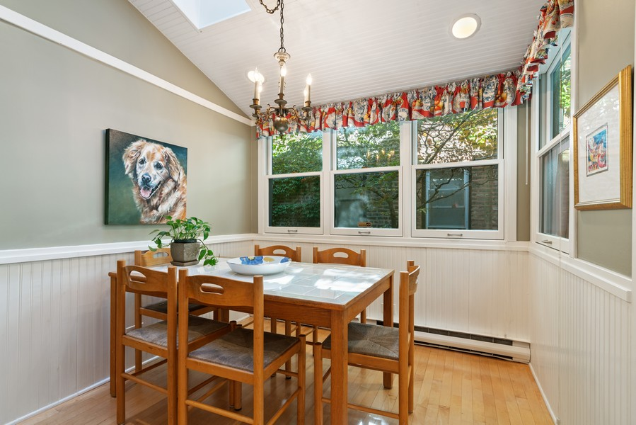 Real Estate Photography - 428 W. Roslyn Pl, Chicago, IL, 60614 - Dining Area