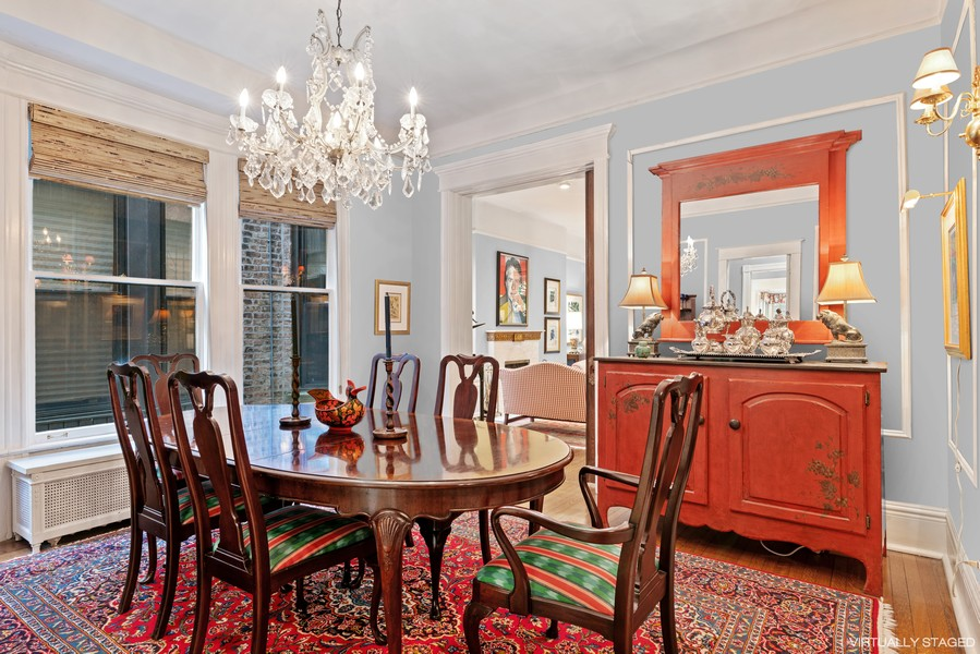 Real Estate Photography - 428 W. Roslyn Pl, Chicago, IL, 60614 - Dining Room