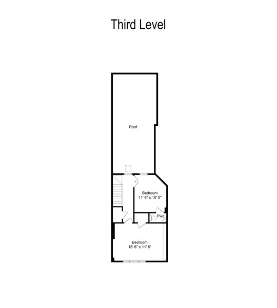 Real Estate Photography - 428 W. Roslyn Pl, Chicago, IL, 60614 - Floor Plan