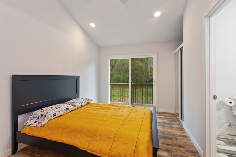 Real Estate Photography - 18743 Rose City Road, New Buffalo, MI, 49117 - Master Bedroom