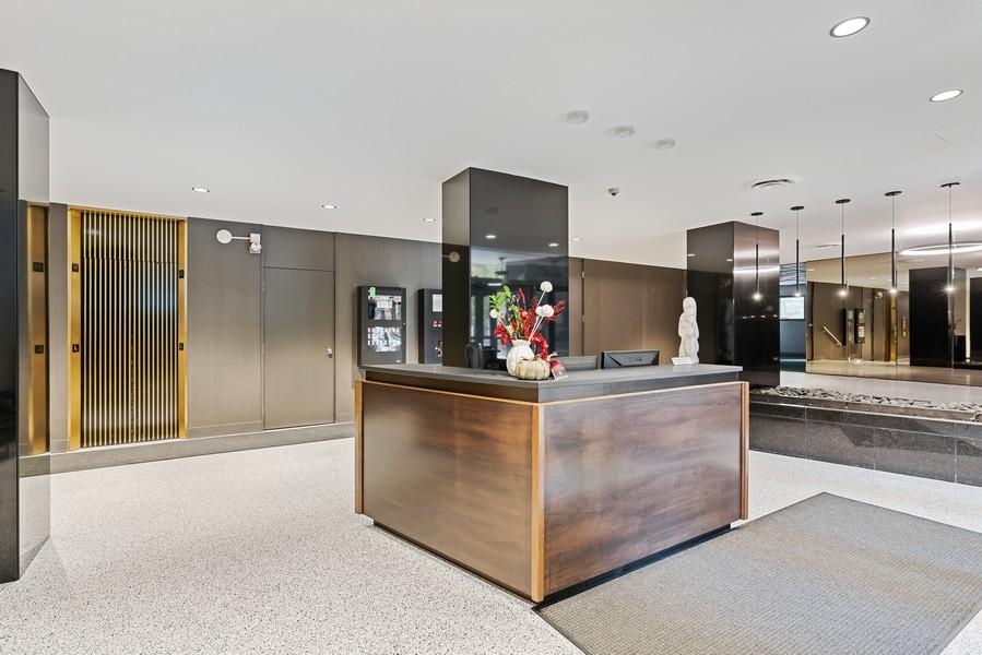 Real Estate Photography - 253 E. Delaware Pl, #4A, Chicago, IL, 60611 - Lobby
