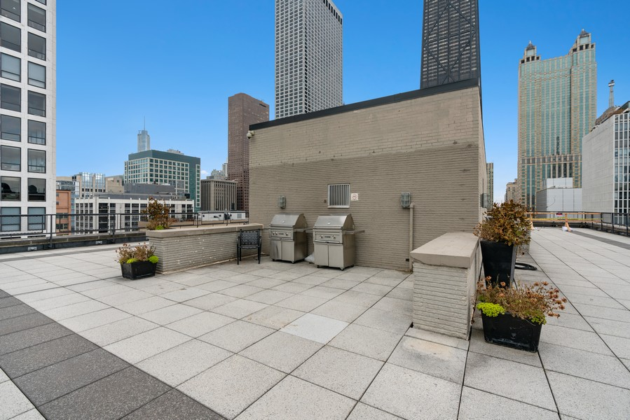 Real Estate Photography - 253 E. Delaware Pl, #4A, Chicago, IL, 60611 - Roof Deck