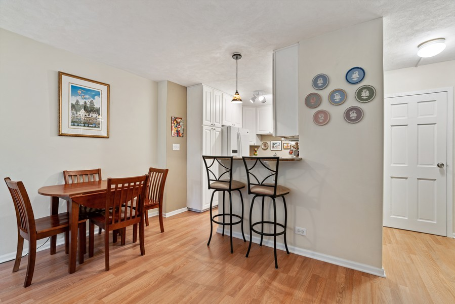 Real Estate Photography - 253 E. Delaware Pl, #4A, Chicago, IL, 60611 - Dining Room