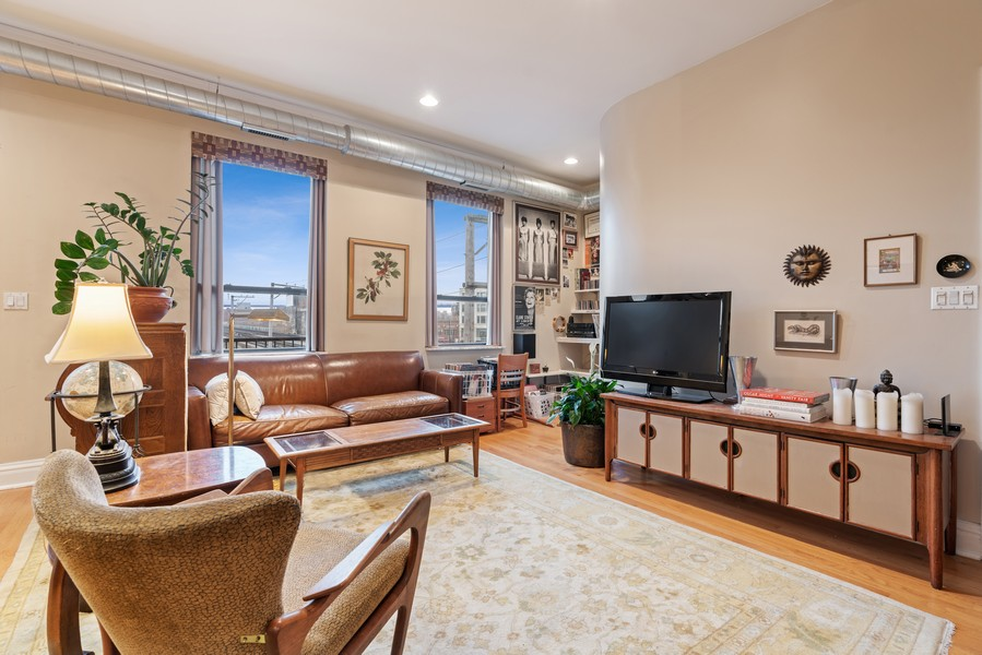 Real Estate Photography - 1107 W. Lawrence Ave, #307, Chicago, IL, 60640 - Living Room