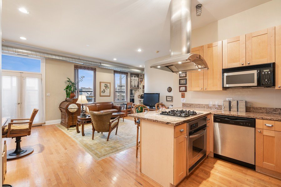 Real Estate Photography - 1107 W. Lawrence Ave, #307, Chicago, IL, 60640 - Kitchen