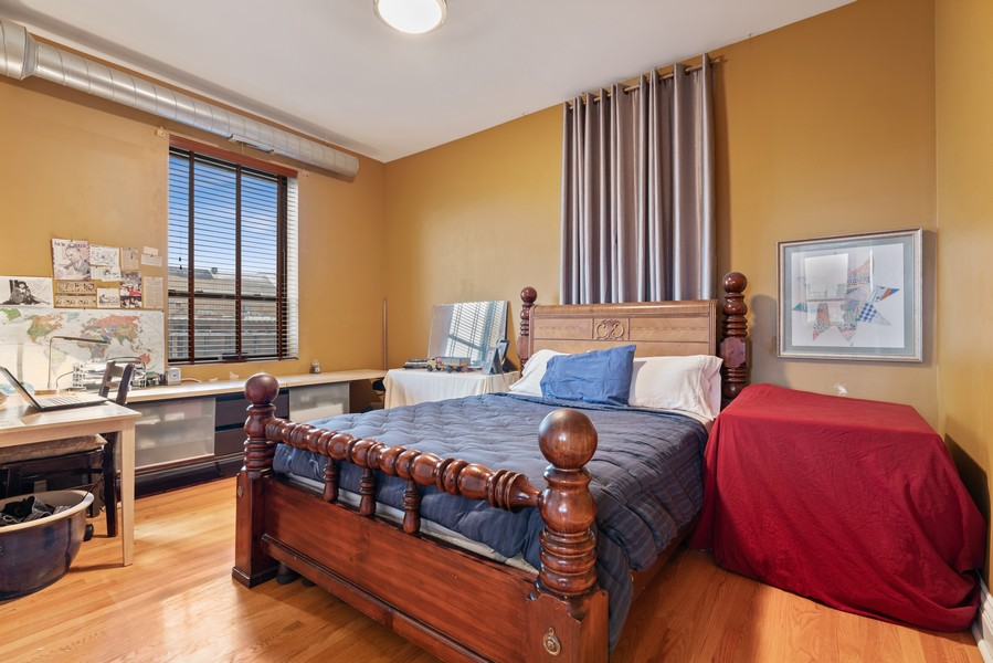 Real Estate Photography - 1107 W. Lawrence Ave, #307, Chicago, IL, 60640 - Bedroom