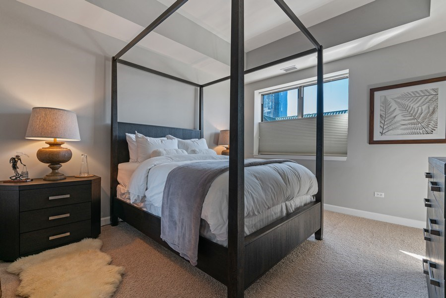Real Estate Photography - 1133 S. State, #703, Chicago, IL, 60605 - 2nd Bedroom