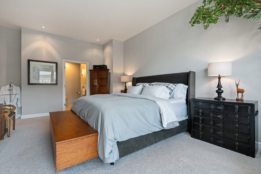 Real Estate Photography - 1133 S. State, #703, Chicago, IL, 60605 - Master Bedroom