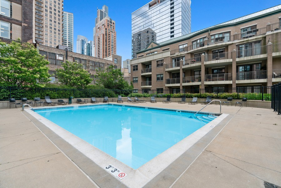 Real Estate Photography - 1133 S. State, #703, Chicago, IL, 60605 - Pool